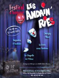 Affiche Les Andain'ries 2013