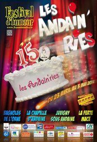 Affiche Les Andain'ries 2014