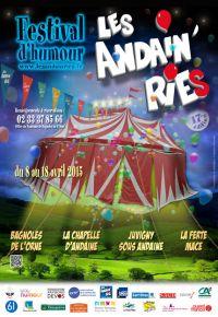 Affiche Les Andain'ries 2015