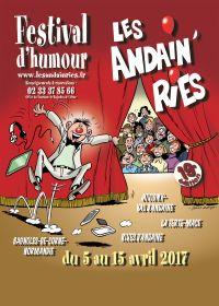 Affiche Les Andain'ries 2017